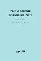 Polski Rocznik Muzykologiczny