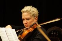 Magdalena Małecka podczas próby