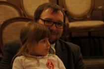 Sławomir Zamuszko z córką Basią