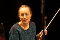Agnieszka Marucha podczas próby