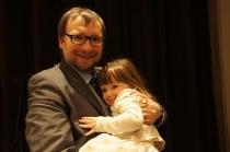Sławomir Zamuszko z córką Martą
